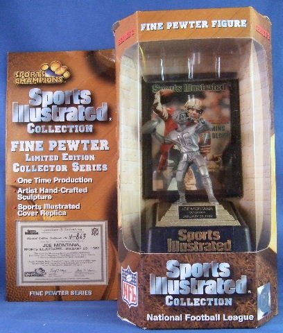 1997 - Sports Champions - Sports Illustrated - National Football League - Joe Montana - Figure