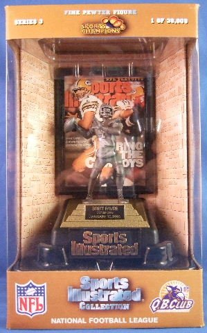 1997 - Sports Champions - Sports Illustrated - National Football League - Brett Favre - Figure