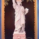 1996 - Hallmark - Keepsake Ornament - The Statue Of Liberty - Music And Light - Ornament