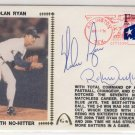 Nolan Ryan & Robbie Alomar - Signed - 7th No Hitter - FDC Cachet