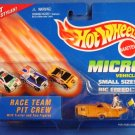 1996 - Mattel - Hot Wheels - Micro Vehicles - Race Team Pit Crew