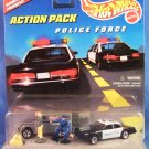1997 - Mattel - Hot Wheels - Action Pack - Police Force - Diecast Metal
