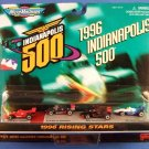 1997 - Galoob - Micro Machines - Scale Miniatures - Indianapolis 500 - 1996 Rising Stars