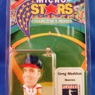 "1992 - Micro Stars - Collectors Series - Atlanta Braves - 2"" Greg Maddux"