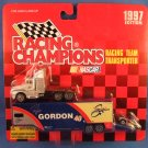1997 - Robby Gordon No. 40 - NASCAR - Racing Champions - Racing Team Transporter - Diecast Metal Car