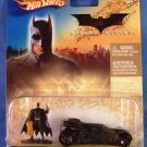 2005 - Kenner - Batman Begins - Batmobile - Black - Die Cast Metal Car