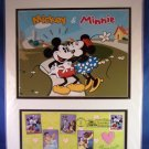 2006 - USPS - Mickey and Minnie - The Art Of Disney Romance - 1st Day Of Issue - Lithograph