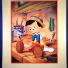 1993 - Walt Disneys - Pinocchio - Exclusive - Commemorative Lithograph