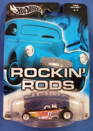 2003 - Hot Wheels - Metal Collection - Tire Fryer - Die-cast Metal - Car