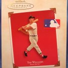 2003 - Hallmark - Keepsake Ornament - Ted Williams - Boston Red Sox - Christmas Ornament