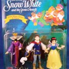 1993 - Mattel - Walt Disneys - Snow White And The Seven Dwarfs - Toy Figures