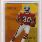 1995 - Terrell Davis - Select - Certified Edition - Mirror Gold - RC #126 - BGS 8.5 - NM-MT+
