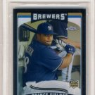 2006 - Prince Fielder - Baseball - Topps Chrome - Black Refractor - Rookie Card #307 - BGS 9 - Mint
