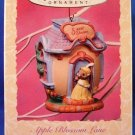 1997- Hallmark - Keepsake Ornament - 1997 Collector's Series - Apple Blossom Lane - Ornament