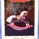 1996 - Hallmark - Keepsake Ornament - Collector's Series - Rocking Horse - Ornament