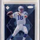1998 - Peyton Manning - Collectors Edge - Supreme Masters - Rookie Card #S183 - BGS 9 Mint
