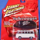 2005 - Johnny Lightning - Volkswagen - 1966 Samba Bus - Die-cast Metal Cars