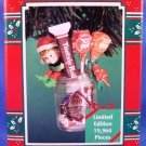 1996 - Enesco - Tootsie Roll - 100th Year Anniversary - Limited Edition - Christmas Ornament