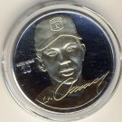 1996 - The Highland Mint - Signature Series - Hideo Nomo -  LA Dodgers - Silver/Gold - Coin
