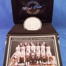 1995-96 - The Highland Mint - Chicago Bulls - First 70 Win Season - Silver Bull Coin