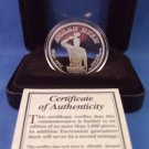 1966-1993  Enviro-Mint - Nolan Ryan - Farewell Season Commemorative - No. 14496 Silver Medallion