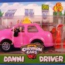 1997 - The Chevron Cars - Danni Driver - Ed's Driving School - Plastic Motor Vehicles
