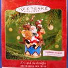 2001 - Hallmark - Keepsake Ornament - Kris and the Kringles - 1st In Series - Christmas Ornament