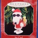 1998 - Hallmark - Keepsake Ornament - Peanuts - Spotlight On Snoopy - Joe Cool