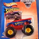 2003 - Hot Wheels - Monster Jam - Metal Collection - DC - Superman -  Diecast Metal Truck