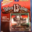 2006 - Johnny Lightning - Street Freaks - Thirteen Customs - '64 Black Chevy Pick Up - Die-cast