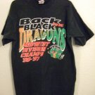 1996-97 - The Dragons - Back To Back - Midwest Division Champs - Hockey T-Shirt