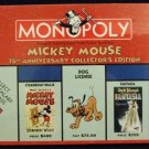 2004 - Parker Brothers - Monopoly - Mickey Mouse 75th Anniversary Collector's Edition - Board Game