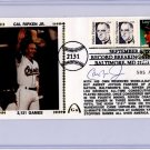 Cal Ripken Jr - Autographed - 2131 - September 6, 1995 - Gateway - Cachet