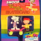 Snoopy - Free Wheeling Action - Skateboard