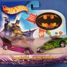 2003 - Mattel - Hot Wheels - DC Comics - Batman - Diecast - Set