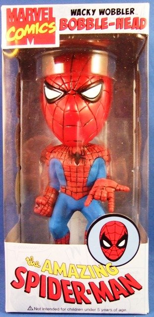 2008 - Funko - Marvel Comics - The Amazing Spider-Man - Wacky Wobbler Bobble-Head