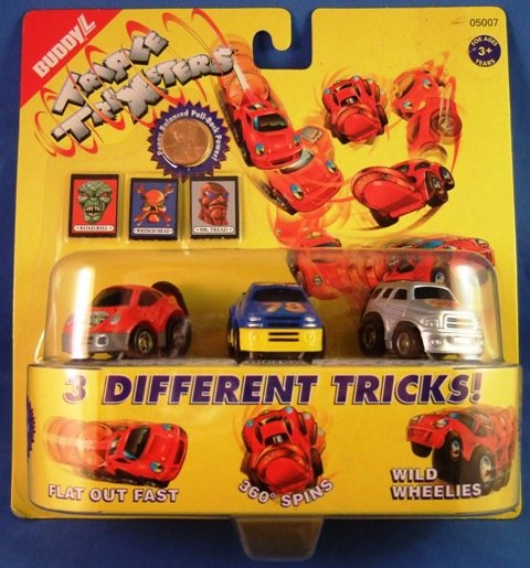 1997 - Empire - Buddy L - Triple Trixsters - Die Cast Cars - Set of Two