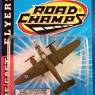 1997 - Jakks Pacific - Road Champs - Die Cast Flyers - B-25 - Toy Air Plane