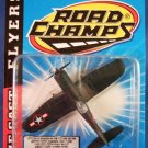 1997 - Jakks Pacific - Road Champs - Die Cast Flyers - F-4U - Toy Air Plane