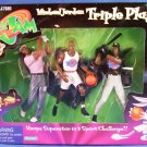 1997 - Playmates - Space Jam - Michael Jordan - Triple Play - Toy Action Figures