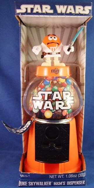 Mars - M&Ms Brand - Star Wars - Luke Skywalker - Candy Dispenser