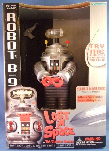 1997 Trendmasters Lost In Space The Classic Series Robot B-9 Toy Action Figure