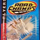 1997 - Jakks Pacific - Road Champs - Die Cast Flyers - P-38J Lightning - Toy Air Plane