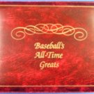1989 - Nolan Ryan - Baseball's All-Time Greats - Hand Signed - 23 Karat - Gold Stamp
