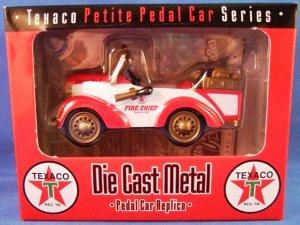 Crown Premiums Texaco Petite Pedal Car Series Die Cast Metal