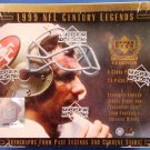 1999 Upper Deck NFL Century Legends Football Hobby Box