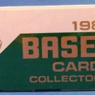 1989 Bowman Tiffany Baseball Collector's Edition Card Set