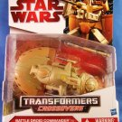 2009 Hasbro Star Wars Transformers Crossovers Battle Droid Commander