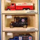 1996 - The Chevron Cars - Commemorative Model - Die-Cast Metal Replica - Set of 3