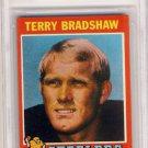 1971 Topps Terry Bradshaw Rookie Card 156 BVG 7.5 NM+